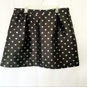 Nwot J.Crew Polka Dot Skirt